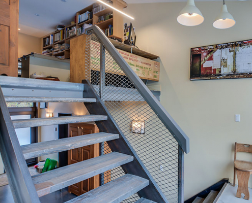 Construction Hors Série - Escalier acier